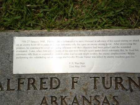 TURNER (VETERAN WWII), ALFRED F - Craighead County, Arkansas | ALFRED F TURNER (VETERAN WWII) - Arkansas Gravestone Photos