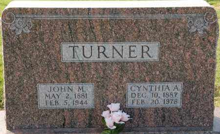 TURNER, JOHN M. - Craighead County, Arkansas | JOHN M. TURNER - Arkansas Gravestone Photos