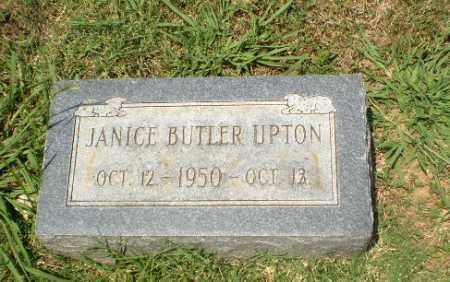 UPTON, JANICE BUTLER - Craighead County, Arkansas | JANICE BUTLER UPTON - Arkansas Gravestone Photos