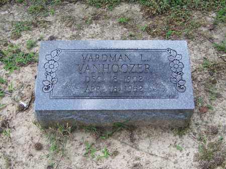 VANHOOZER, VARDMAN L. - Craighead County, Arkansas | VARDMAN L. VANHOOZER - Arkansas Gravestone Photos
