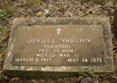 VAUGHN  (VETERAN WWII), ORVILLE - Craighead County, Arkansas | ORVILLE VAUGHN  (VETERAN WWII) - Arkansas Gravestone Photos