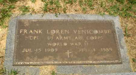 VENICOMBE (VETERAN WWII), FRANK LOREN - Craighead County, Arkansas | FRANK LOREN VENICOMBE (VETERAN WWII) - Arkansas Gravestone Photos