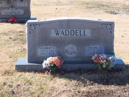 WADDELL, HERBERT - Craighead County, Arkansas | HERBERT WADDELL - Arkansas Gravestone Photos