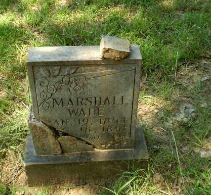 WADE, MARSHALL - Craighead County, Arkansas | MARSHALL WADE - Arkansas Gravestone Photos