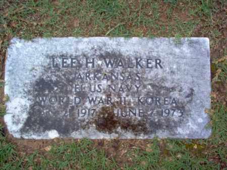 WALKER (VETERAN 2 WARS), LEE H - Craighead County, Arkansas | LEE H WALKER (VETERAN 2 WARS) - Arkansas Gravestone Photos