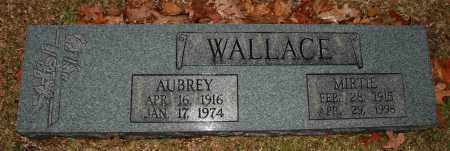 ANDERSON WALLACE, MIRTIE - Craighead County, Arkansas | MIRTIE ANDERSON WALLACE - Arkansas Gravestone Photos