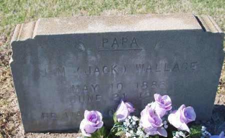 "WALLACE, JOHN MORGAN ""JACK"" - Craighead County, Arkansas | JOHN MORGAN ""JACK"" WALLACE - Arkansas Gravestone Photos"