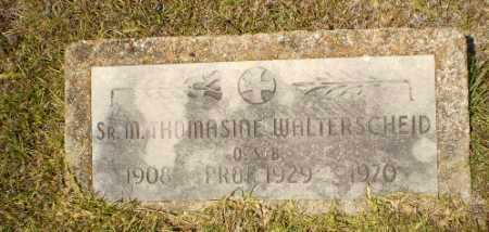 WALTERSCHEID, SISTER M. THOMASINE - Craighead County, Arkansas | SISTER M. THOMASINE WALTERSCHEID - Arkansas Gravestone Photos