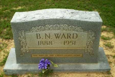 WARD, B.N. - Craighead County, Arkansas | B.N. WARD - Arkansas Gravestone Photos