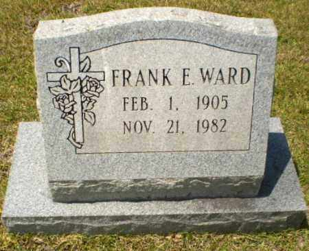 WARD, FRANK E - Craighead County, Arkansas | FRANK E WARD - Arkansas Gravestone Photos