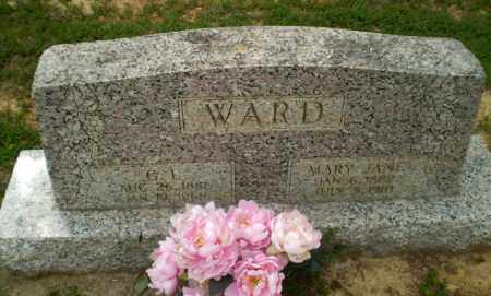 WARD, G.L. - Craighead County, Arkansas | G.L. WARD - Arkansas Gravestone Photos
