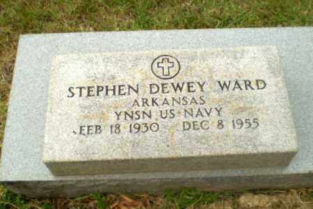 WARD (VETERAN), STEPHEN DEWEY - Craighead County, Arkansas | STEPHEN DEWEY WARD (VETERAN) - Arkansas Gravestone Photos