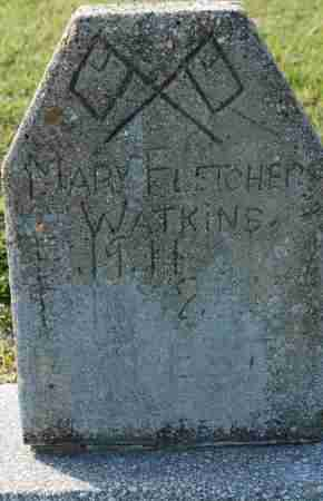 FLETCHER WATKINS, MARY - Craighead County, Arkansas | MARY FLETCHER WATKINS - Arkansas Gravestone Photos