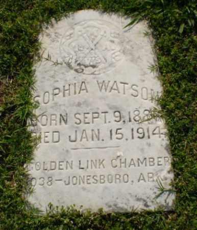 WATSON, SOPHIA - Craighead County, Arkansas | SOPHIA WATSON - Arkansas Gravestone Photos