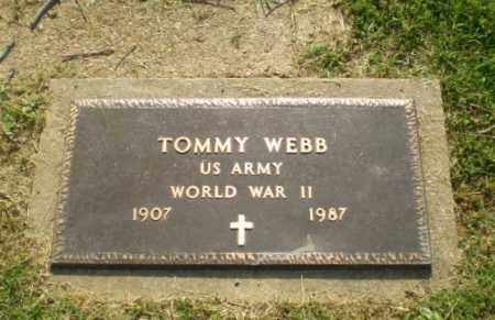WEBB  (VETERAN WWII), TOMMY - Craighead County, Arkansas | TOMMY WEBB  (VETERAN WWII) - Arkansas Gravestone Photos