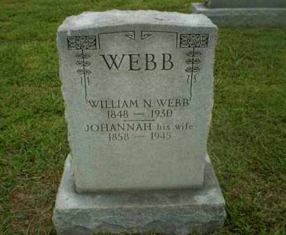 WEBB, JOHANNAH - Craighead County, Arkansas | JOHANNAH WEBB - Arkansas Gravestone Photos