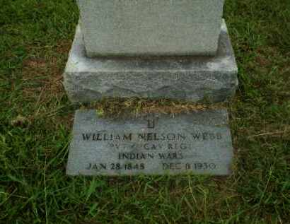 WEBB (VETERAN IW), WILLIAM NELSON - Craighead County, Arkansas | WILLIAM NELSON WEBB (VETERAN IW) - Arkansas Gravestone Photos