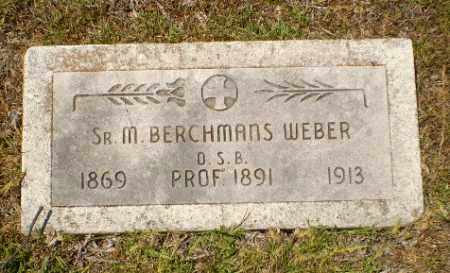 WEBER, SISTER M. BERCHMANS - Craighead County, Arkansas | SISTER M. BERCHMANS WEBER - Arkansas Gravestone Photos