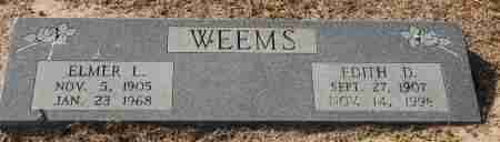 WEEMS, ELMER L. - Craighead County, Arkansas | ELMER L. WEEMS - Arkansas Gravestone Photos