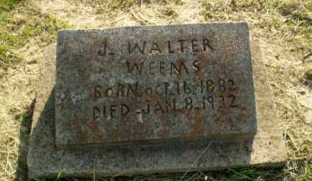 WEEMS, J. WALTER - Craighead County, Arkansas | J. WALTER WEEMS - Arkansas Gravestone Photos