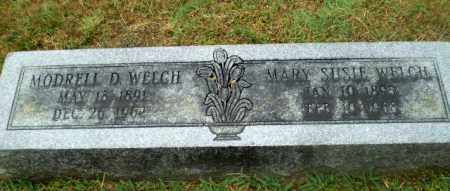 WELCH, MARY SUSIE - Craighead County, Arkansas | MARY SUSIE WELCH - Arkansas Gravestone Photos