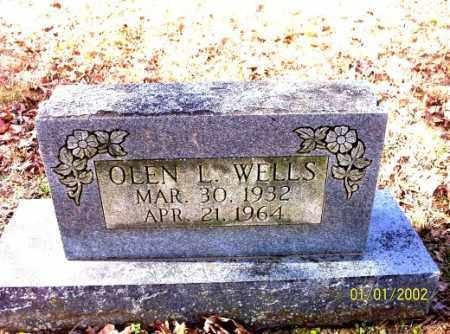 WELLS, OLEN L. - Craighead County, Arkansas | OLEN L. WELLS - Arkansas Gravestone Photos