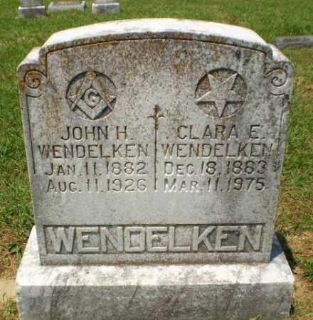 WENDELKEN, CLARA E - Craighead County, Arkansas | CLARA E WENDELKEN - Arkansas Gravestone Photos