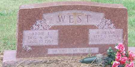 WEST, ADDIE E. - Craighead County, Arkansas | ADDIE E. WEST - Arkansas Gravestone Photos