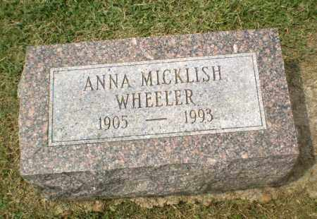 WHEELER, ANNA - Craighead County, Arkansas | ANNA WHEELER - Arkansas Gravestone Photos