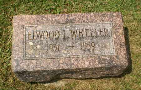 WHEELER, ELWOOD L - Craighead County, Arkansas | ELWOOD L WHEELER - Arkansas Gravestone Photos