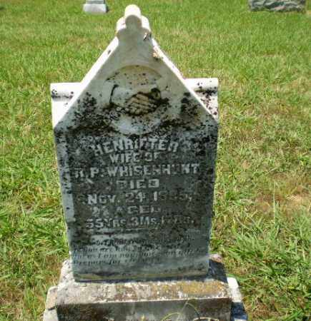 WHISENHUNT, HENRIETTEA - Craighead County, Arkansas | HENRIETTEA WHISENHUNT - Arkansas Gravestone Photos