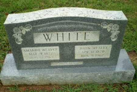 WEAVER WHITE, AMANDA - Craighead County, Arkansas | AMANDA WEAVER WHITE - Arkansas Gravestone Photos