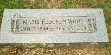 FLOCKEN WHITE, MARIE - Craighead County, Arkansas | MARIE FLOCKEN WHITE - Arkansas Gravestone Photos