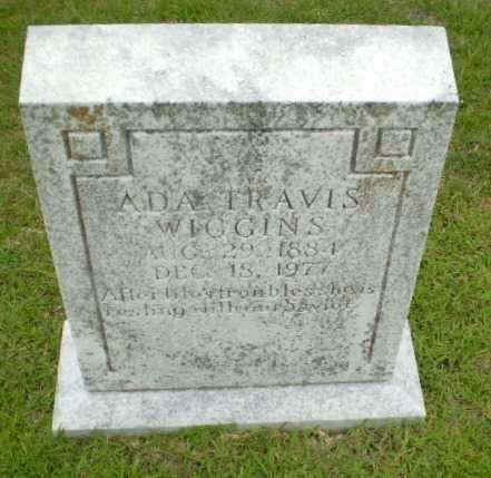 TRAVIS WIGGINS, ADA - Craighead County, Arkansas | ADA TRAVIS WIGGINS - Arkansas Gravestone Photos