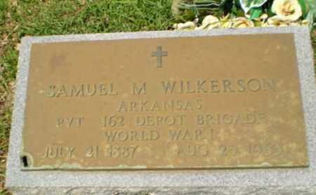 WILKERSON  (VETERAN WWI), SAMUEL M. - Craighead County, Arkansas | SAMUEL M. WILKERSON  (VETERAN WWI) - Arkansas Gravestone Photos