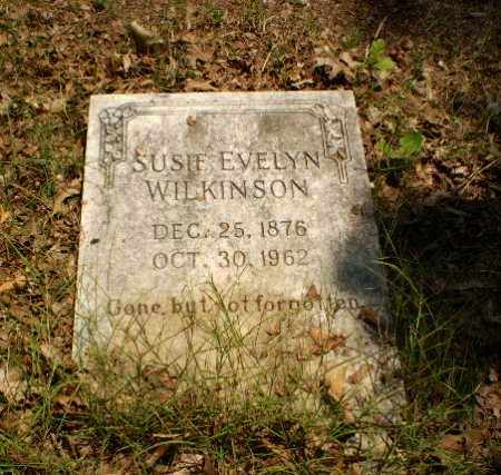 WILKINSON, SUSIE EVELYN - Craighead County, Arkansas | SUSIE EVELYN WILKINSON - Arkansas Gravestone Photos
