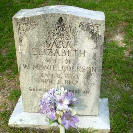 WILLCOCKSON, SARA ELIZABETH - Craighead County, Arkansas | SARA ELIZABETH WILLCOCKSON - Arkansas Gravestone Photos