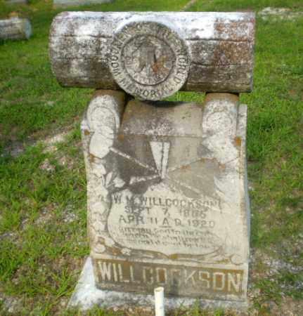 WILLCOCKSON, W.M. - Craighead County, Arkansas   W.M. WILLCOCKSON - Arkansas Gravestone Photos