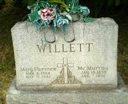 WILLETT, MCMURRAY - Craighead County, Arkansas | MCMURRAY WILLETT - Arkansas Gravestone Photos