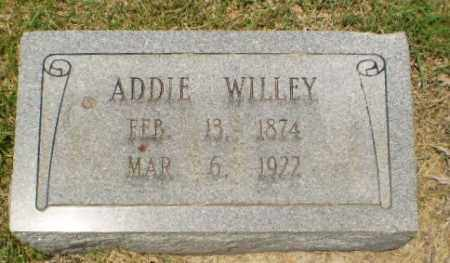 WILLEY, ADDIE - Craighead County, Arkansas | ADDIE WILLEY - Arkansas Gravestone Photos