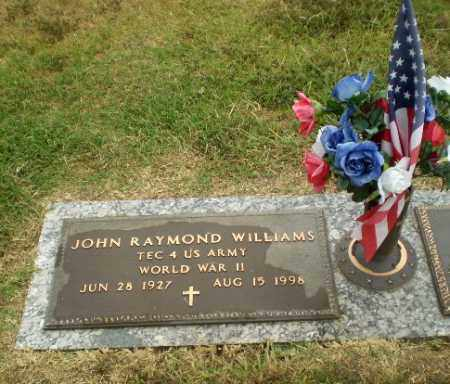 WILLIAMS  (VETERAN WWII), JOHN RAYMOND - Craighead County, Arkansas | JOHN RAYMOND WILLIAMS  (VETERAN WWII) - Arkansas Gravestone Photos