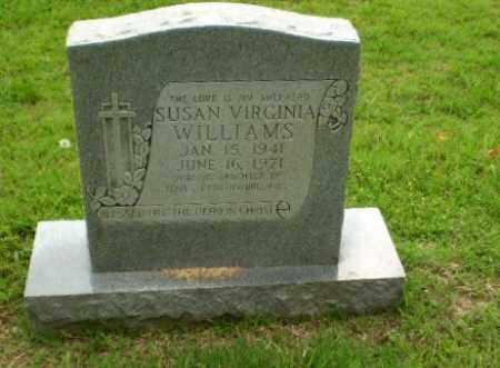 WILLIAMS, SUSAN VIRGINIA - Craighead County, Arkansas | SUSAN VIRGINIA WILLIAMS - Arkansas Gravestone Photos