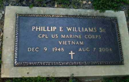 WILLIAMS, SR (VETERAN VIET), PHILLIP E - Craighead County, Arkansas | PHILLIP E WILLIAMS, SR (VETERAN VIET) - Arkansas Gravestone Photos