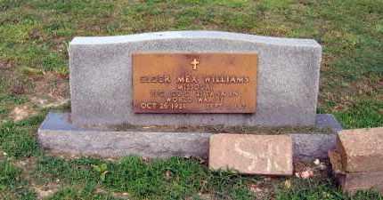 WILLIAMS (VETERAN WWII), ELDER MEX - Craighead County, Arkansas | ELDER MEX WILLIAMS (VETERAN WWII) - Arkansas Gravestone Photos