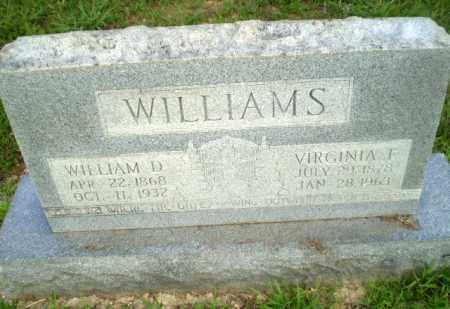 WILLIAMS, WILLIAM D - Craighead County, Arkansas | WILLIAM D WILLIAMS - Arkansas Gravestone Photos