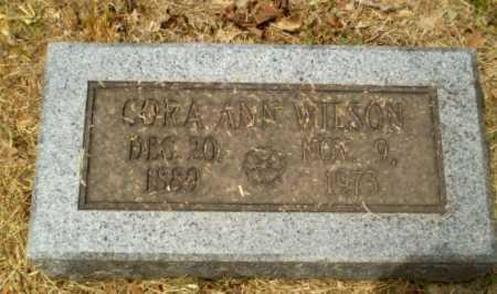 WILSON, CORA ANN - Craighead County, Arkansas | CORA ANN WILSON - Arkansas Gravestone Photos