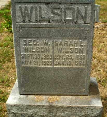 WILSON, GEORGE W - Craighead County, Arkansas | GEORGE W WILSON - Arkansas Gravestone Photos
