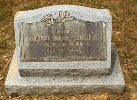 "WILSON, LOUISE ELVA ""DESE"" - Craighead County, Arkansas | LOUISE ELVA ""DESE"" WILSON - Arkansas Gravestone Photos"