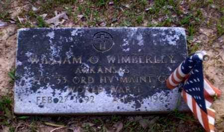 WIMBERLEY  (VETERAN WWII), WILLIAM O - Craighead County, Arkansas | WILLIAM O WIMBERLEY  (VETERAN WWII) - Arkansas Gravestone Photos