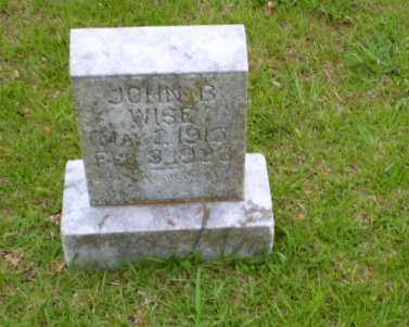WISE, JOHN B - Craighead County, Arkansas | JOHN B WISE - Arkansas Gravestone Photos
